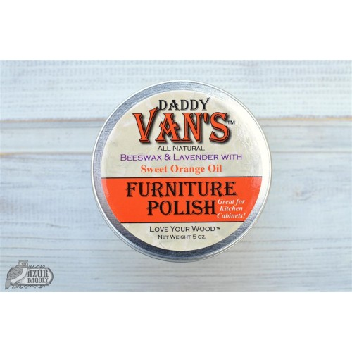 Ceara transparenta Daddy Van`s Furniture Polish - LAVENDER & SWEET ORANGE OIL