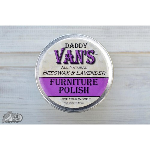 Ceara transparenta Daddy Van`s Furniture Polish - LAVENDER OIL