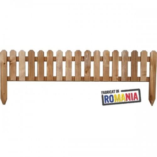 Gard din lemn pentru gradina