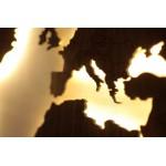Harta lumii cu LED