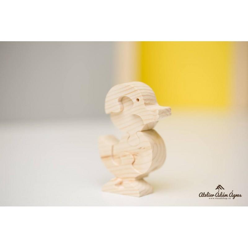 Rățușcă puzzle din lemn