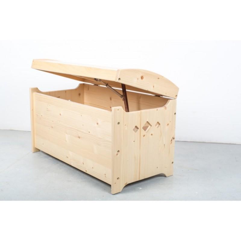 Cufăr din lemn masiv brad
